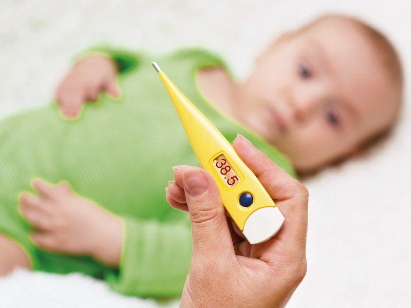 Повышение температуры у ребенка: что делать?